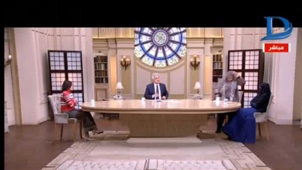 صورة بالفيديو.. انسحاب ضيفة «الإبراشي» على الهواء
