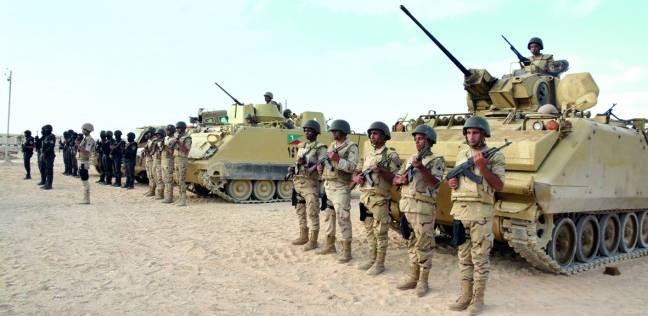 صورة القوات المسلحة تنجح فى تحرير 13 مصريا اختطفتهم عناصر إجرامية بليبيا
