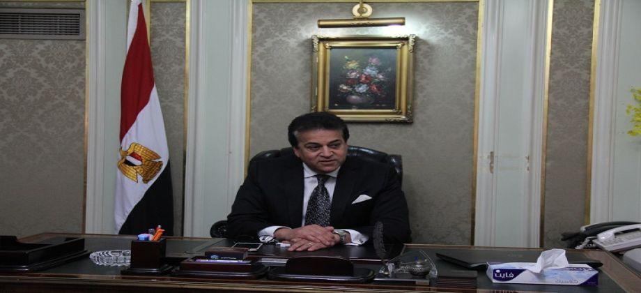 ..وزير التعليم العالي مصر مصدر المعرفة والخبرات في العالم العربي