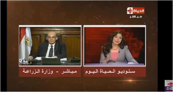 صورة بالفيديو.. «وزير الزراعة»: مشكلة الوزارة الفساد الموجود بها