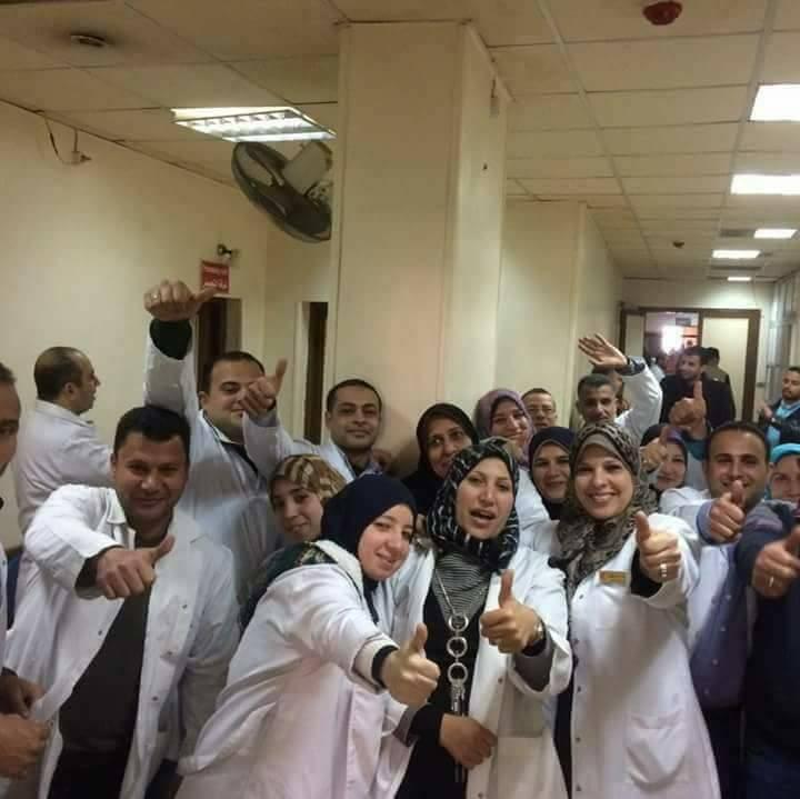 صورة بعد الإطاحة بالمضربين.. رئيس جديد لقسم الأشعة بمستشفى فاقوس