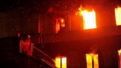 صورة الحماية المدنية تخمد حريق نشب بكنيسة بالزقازيق
