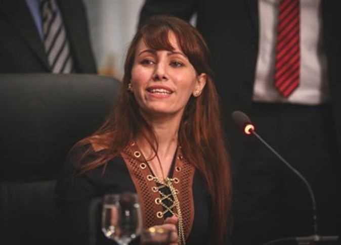 صورة النائبة دينا عبدالعزيز: أتمنى أكون أول إمرأة تتولى رئاسة الوزراء