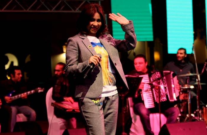 صورة بالفيديو.. شيرين عبد الوهاب ترد على صابر الرباعي