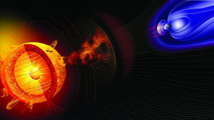 صورة عاصفة شمسية تتسبب في انقطاع التيار الكهربائي بداية من العام الحالي