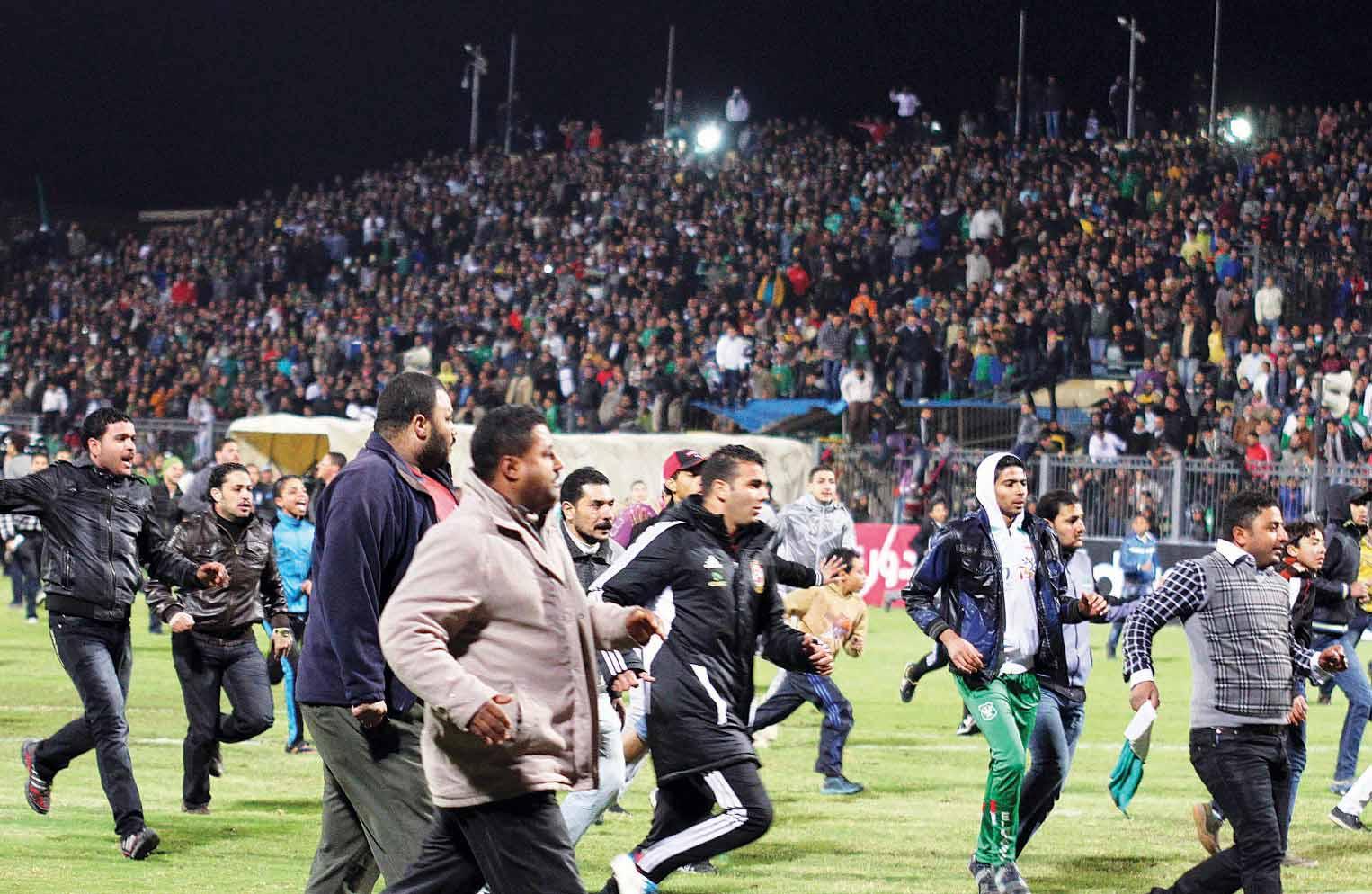 النقض تؤيد إعدام المتهمين بمذبحة بورسعيد
