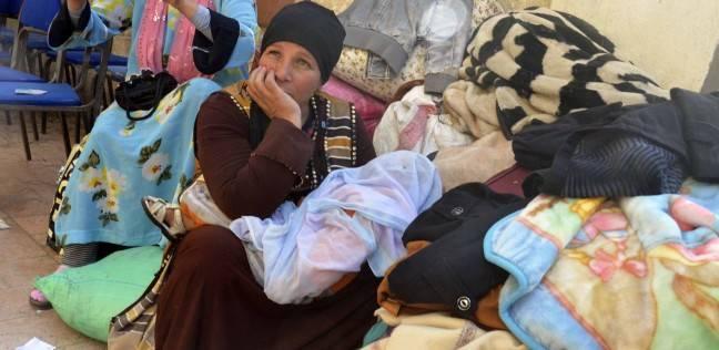 صورة وزيرة التضامن لأقباط العريش : «اعتبروا نفسكو في رحلة»