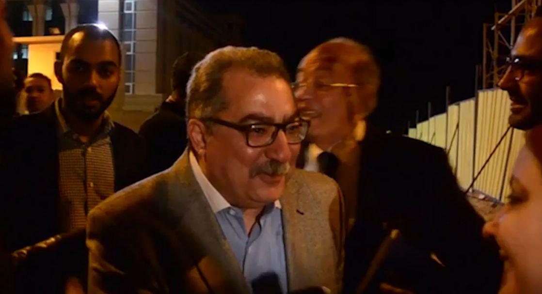 صورة بالفيديو.. أول تعليق لـ «إبراهيم عيسى» بعد إخلاء سبيله