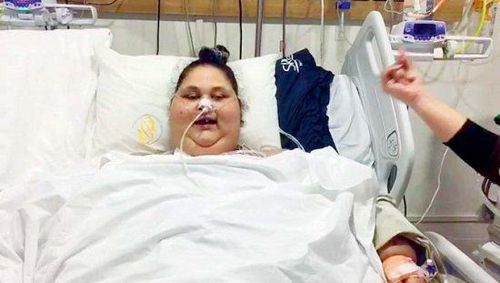صورة تعرف على الخطوة القادمة لـ إيمان «أسمن امرأة بالعالم» بعد عملية تكميم المعدة