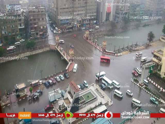 صورة الأرصا : أمطار وأتربة لمدة 48 ساعة