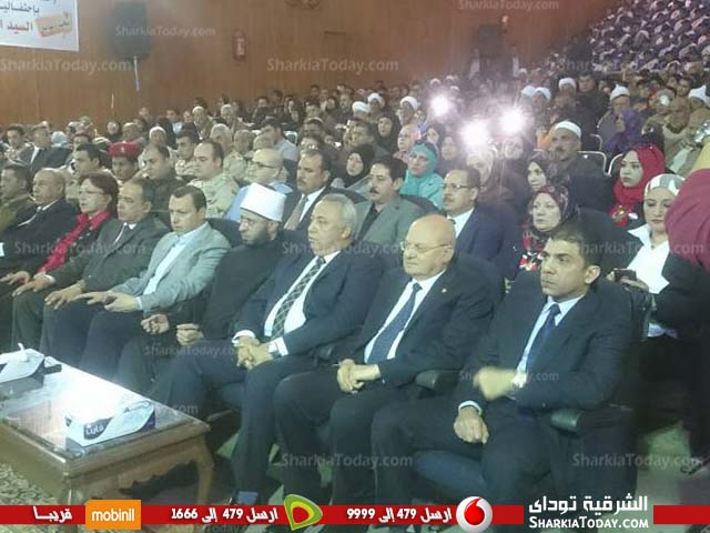 صورة الدكتور «أسامة الأزهري» يشهد احتفالية «يوم الشهيد» بجامعة الزقازيق