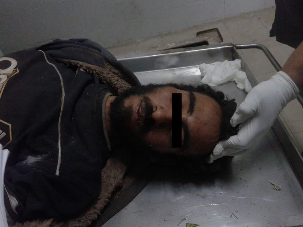 صورة العثور على جثة مجهول الهوية لشاب ببلبيس