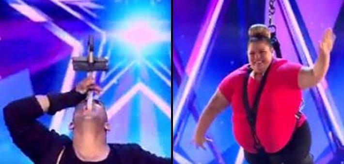 صورة حكام Arabs Got Talent يتعجبون من مصري ولبنانية لهذا السبب