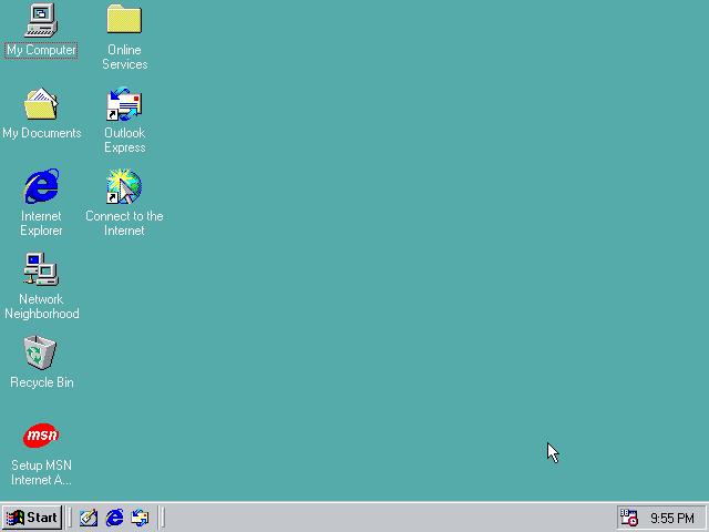 صورة بعد نوكيا 3310.. عودة «ويندوز 98»