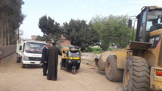 صورة استمرار حملات النظافة بمدينة الحسينية