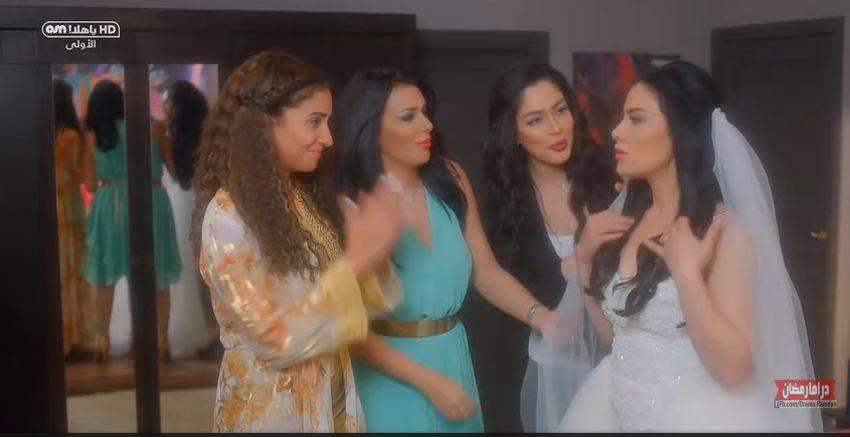 حفل زفاف أحلام في الحلقة السابعة من حكايات بنات الجزء الثاني