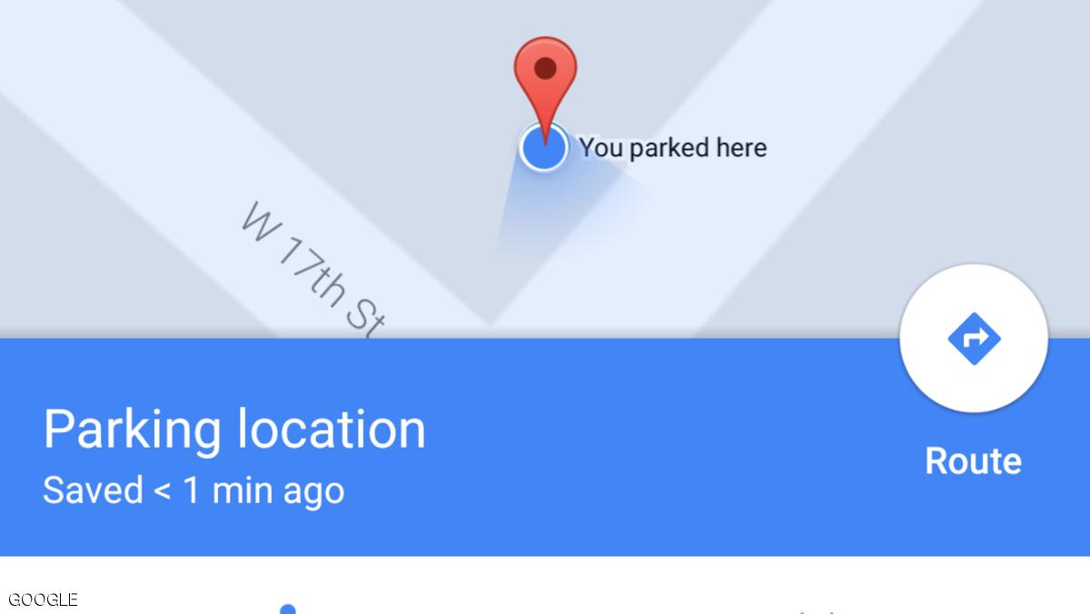 صورة خاصية جديدة من «Google Map» ينتظرها أصحاب السيارات