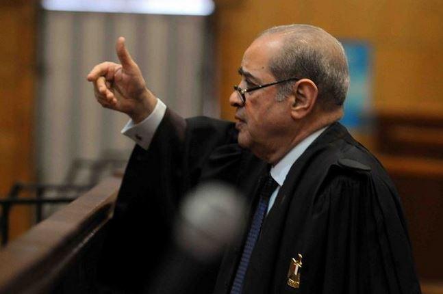 صورة أول تعليق من فريد الديب بعد الحكم ببراءة مبارك