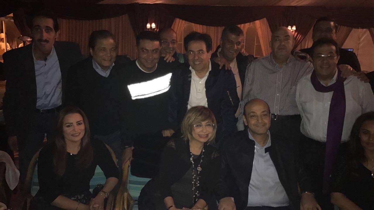 صورة بالصور.. أول ظهور لـ «عمرو أديب» بعد تعرضه لوعكة صحية