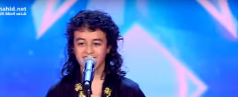 صورة بالفيديو.. هذا ما فعله «التنين الصغير» على مسرح Arabs Got Talent