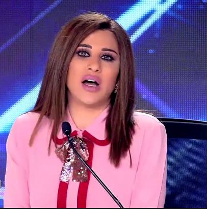 صورة بالفيديو.. «نجوى كرم» تروج للبطيخ الأردني في Arabs Got Talent