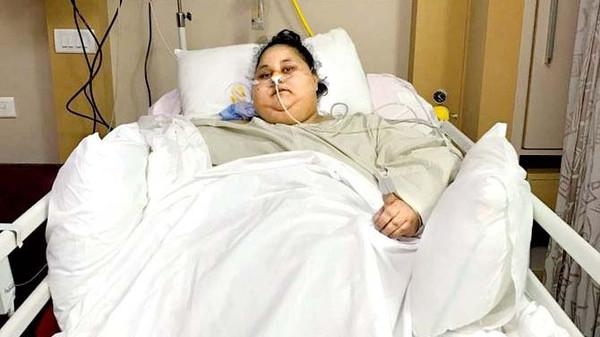 صورة خبر صادم من الهند: لا علاج للمصرية التي تزن نصف طن