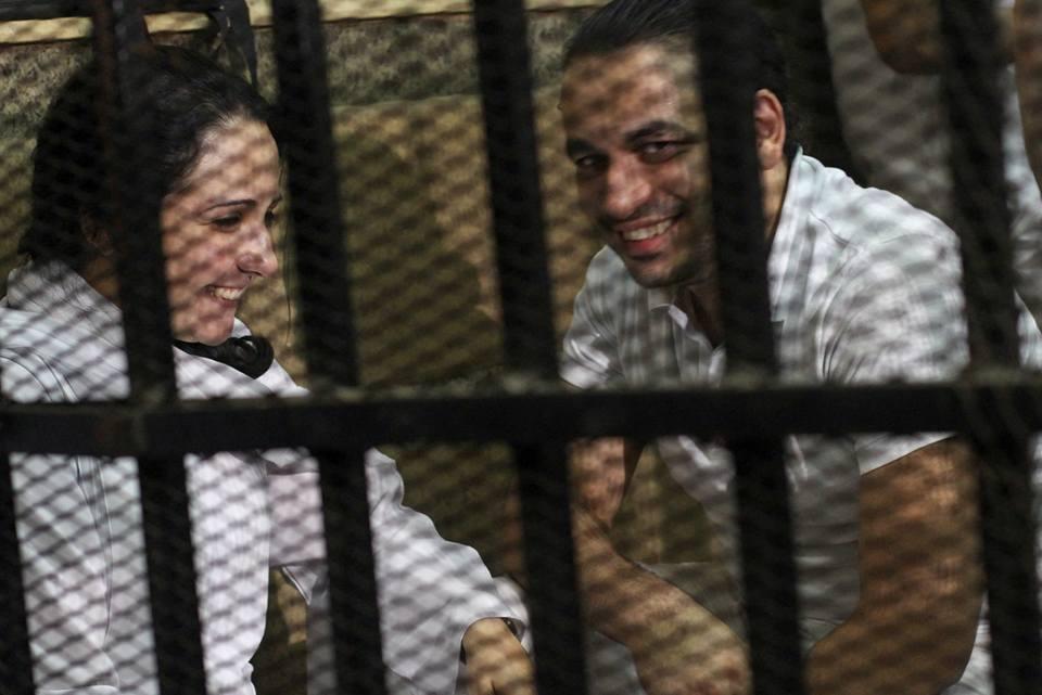 صورة بالصور.. براءة آية حجازى و7 آخرين من تهمة الاتجار فى البشر