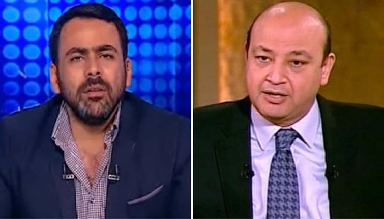 صورة بالفيديو ..تعليق ساخر من عمرو أديب على واقعة ضرب يوسف الحسيني في أمريكا