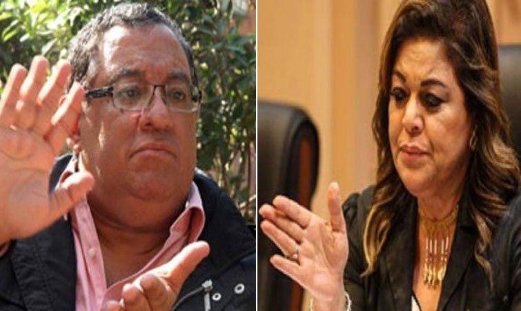 صورة ترحيل سحر وحازم الهوارى لمديرية أمن الإسكندرية استعدادا لنقلهما للسجن