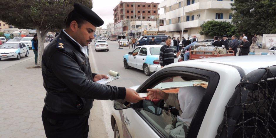 على عقوبة السير بدون رخصة في قانون المرور الجديد