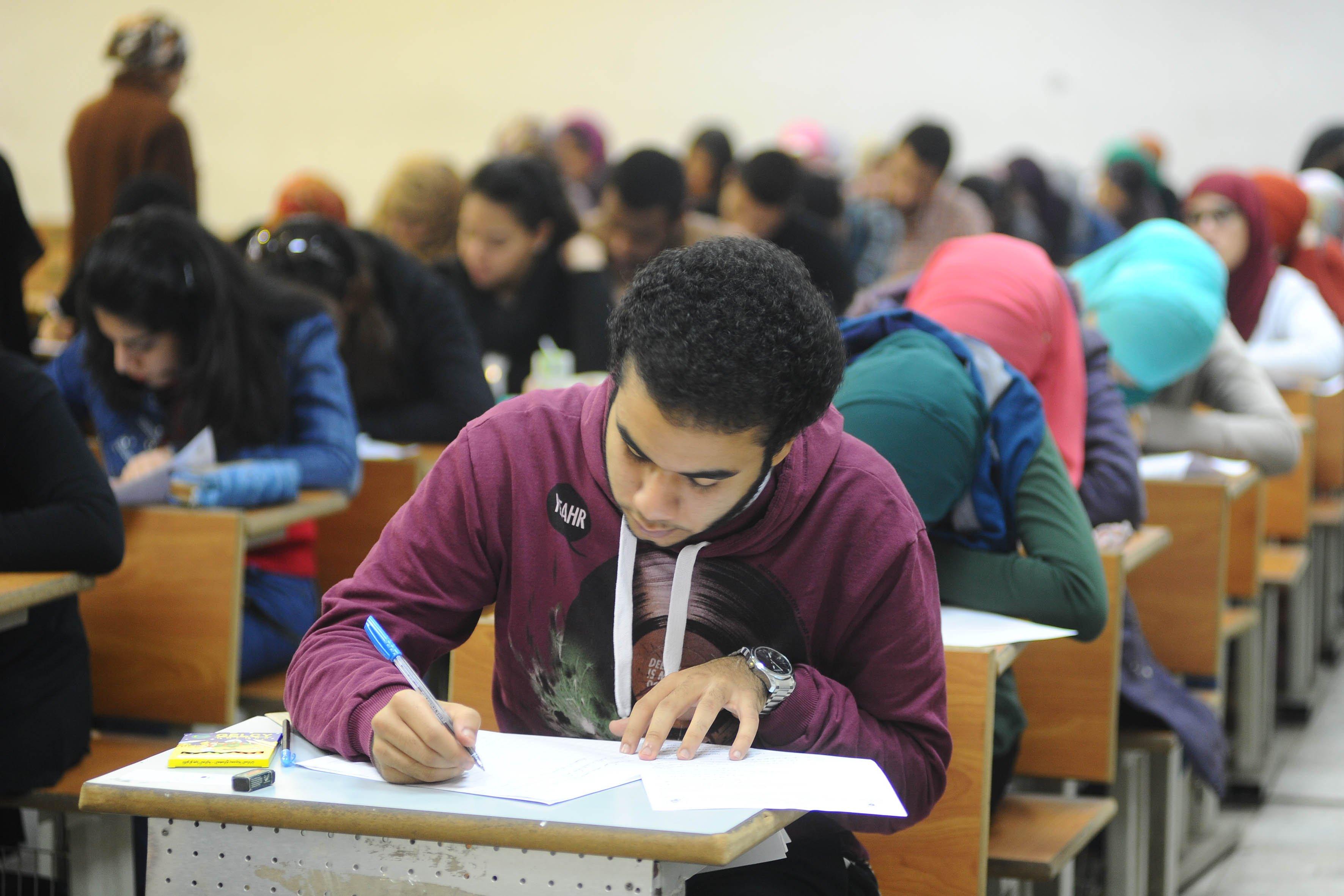 صورة صفحة «شاومينج» تتوعد بتسريب امتحانات الثانوية العامة