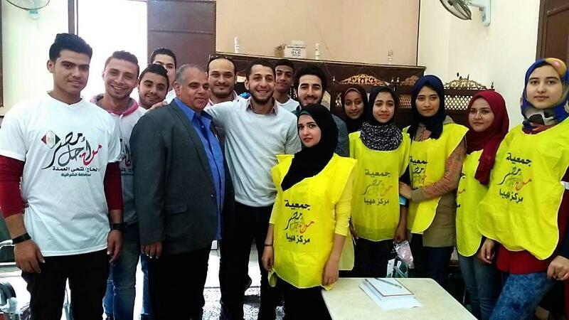 «من أجل مصر» تنظم قوافل طبية للكشف المبكر عن أورام الثدي بههيا