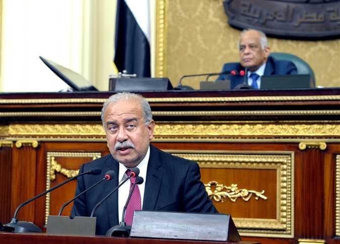 الوزراء يلقي بيانًا أمام مجلس النواب حول فرض حالة الطوارئ