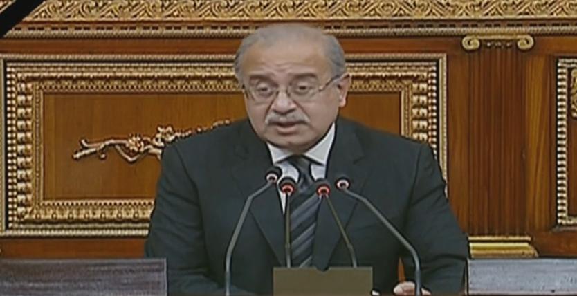 صورة رئيس الوزراء أمام البرلمان: مصر تواجه هجمة إرهابية شرسة
