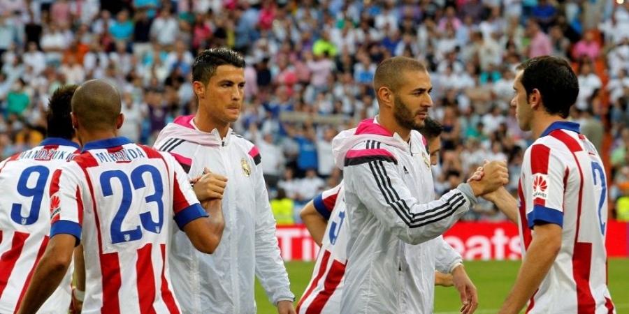 صورة بث مباشر لمباراة الثأر بين ريال مدريد وأتليتكو مدريد