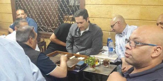 صورة السبب الحقيقي لزيارة علاء مبارك لإمبابة التي أثارت الجدل عبر الفيسبوك