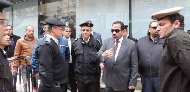 صورة ننشر آخر صور لشهداء الشرطة أمام المرقسية قبل تفجيرها بدقائق