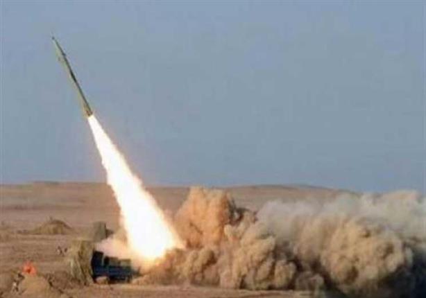 صورة سقوط صاروخ من سيناء على جنوب إسرائيل