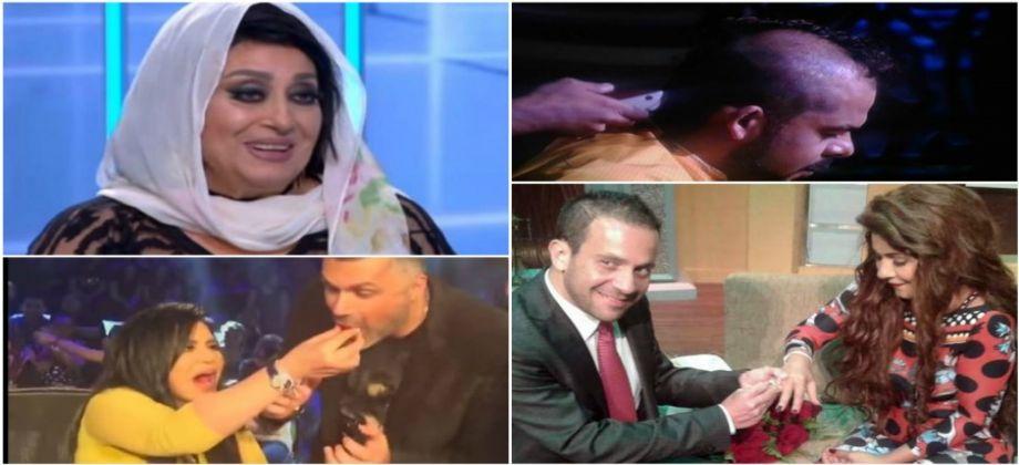 صورة 6 مفاجآت للفنانين على الهواء.. واحدة ارتدت الحجاب وأخرى أعلنت طلاقها