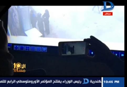 صورة خلال عرض الفيديو بالتصوير البطئ.. الإبراشي يكشف عن مفاجأة في تفجير المرقسية