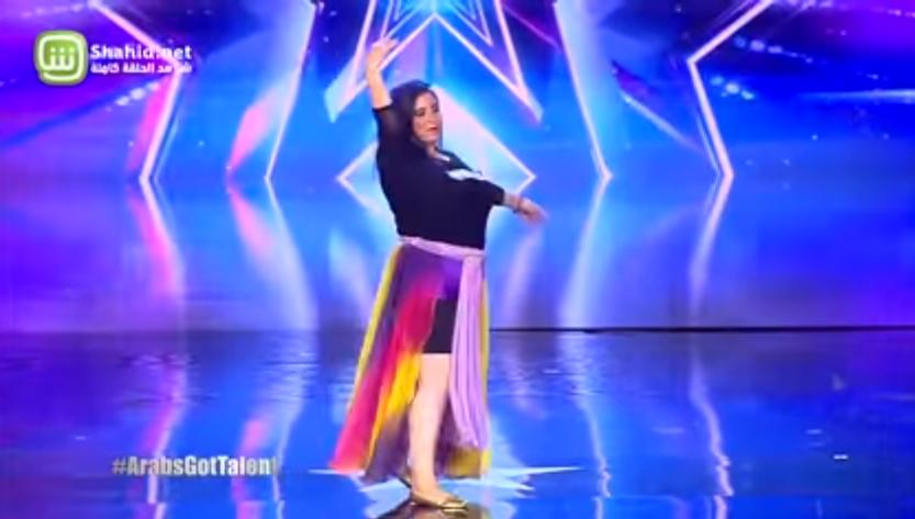 صورة ميرنا أقنعت Arabs Got Talent بموهبتها..وأضحكت الجميع أيضا