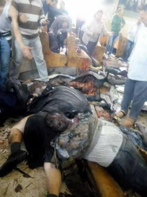 صورة بالفيديو.. شاهد عيان يروي تفاصيل حادث انفجار كنيسة طنطا