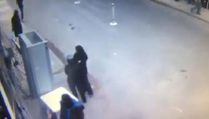 صورة بالفيديو لحظة انفجار كنيسة الإسكندرية من كاميرا المراقبة
