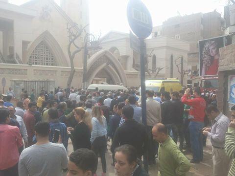 صورة الشرق الأوسط : العثور على أشلاء المشتبه به في تفجير كنيسة طنطا