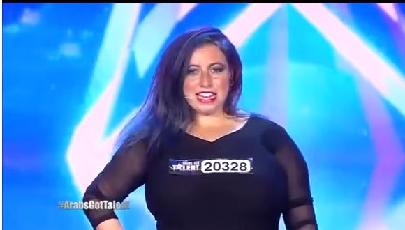 صورة بالفيديو.. متسابقة مصرية تبهر لجنة Arabs Got Talent