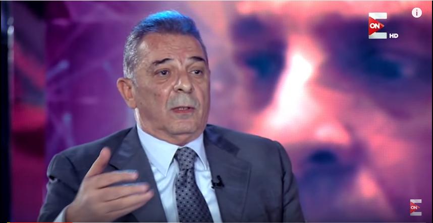 صورة محمود حميدة ينفعل على مذيعة ON بسبب اتهامها له بالدناءة