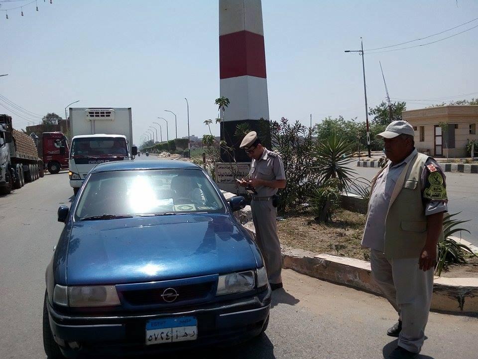 صورة أمن الشرقية يحرر 425 مخالفة مرورية بشوارع ومراكز المحافظة
