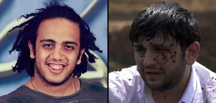 صورة أول تعليق من أوس أوس عقب وقوع مصطفى خاطر ضحية لرامز جلال