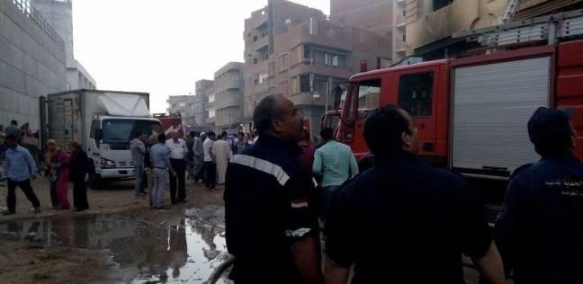 صورة إصابة 3 سيدات بحروق في الوجه والعين بعد اشتعال النيران بمنزلهم بأولاد صقر