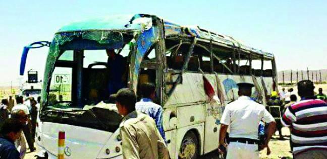 صورة ارتفاع عدد ضحايا حادث المنيا الإرهابي إلى 29 شخصًا